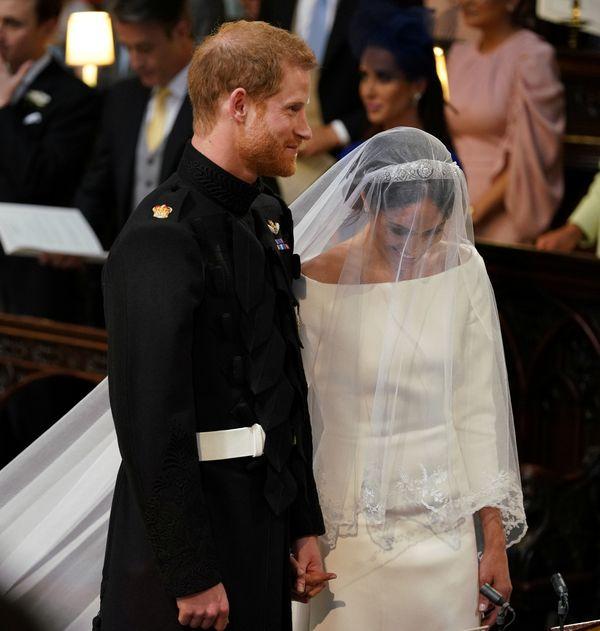 Wiedziałyście, że ślubna fryzura Meghan Markle powstała w... 45 minut?