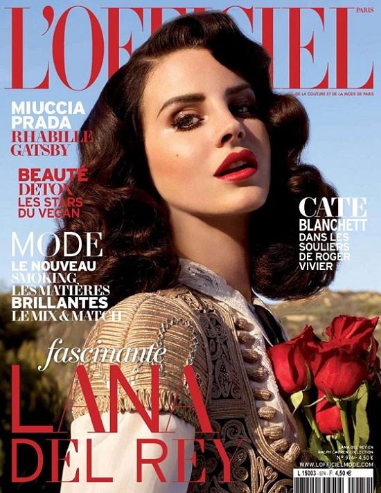 Lana Del Rey na okładkach magazynów