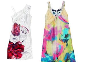 Kolorowe sukienki Semper - wiosna 2011
