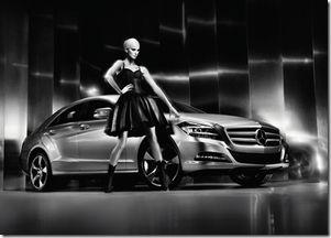 Karolina Kurkova w kampanii Mercedesa (FOTO)