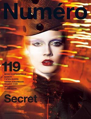 Monika Jagaciak na okładce magazynu Numéro