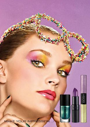 Makijaż Sugar Babe od Gosha