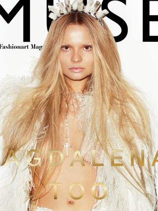 Magdalena Frąckowiak na okładce zimowego Muse Magazine