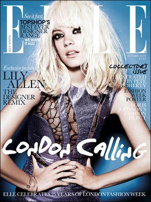 "Lily Allen w brytyjskim ""Elle"""