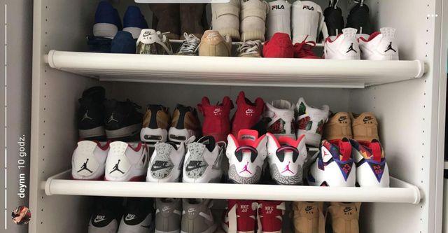 Deynn pokazuje swoją niemałą kolekcję butów (FOTO)