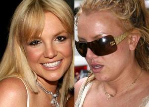 Britney Spears, paris hilton, katie holmes, gwiazdy, metamorfozy, uroda, wygląd