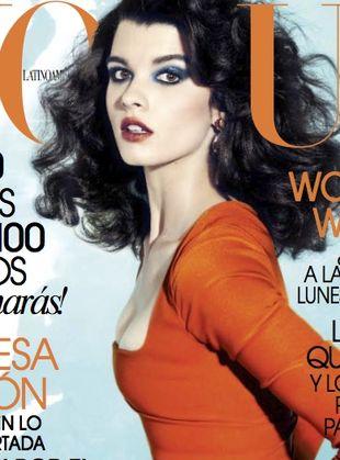 Crystal Renn pierwszy raz na okładce Vogue