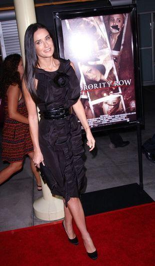 Demi Moore wśród falbanek