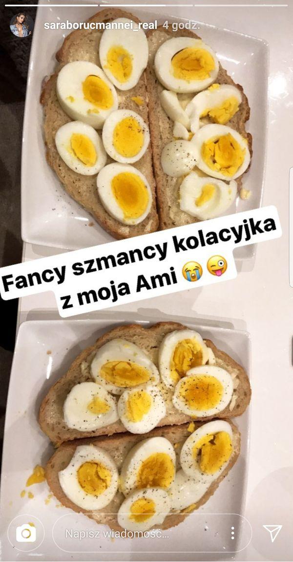 Homary? Kawior? Nie! Padniecie, jak zobaczycie kolację Sary Boruc! (FOTO)