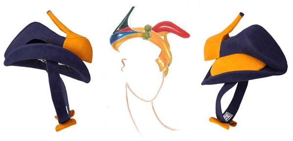shoe hat
