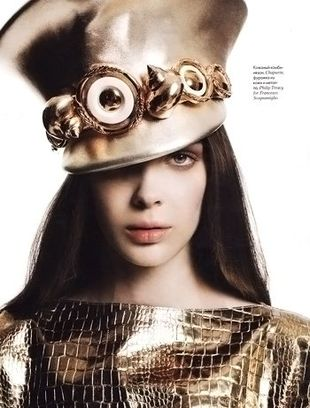 Justyna Stolarczyk w rosyjskim Elle