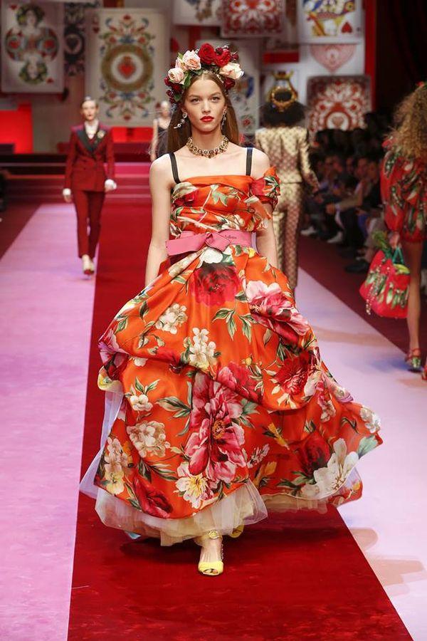 Dolce & Gabbana na wiosnę/lato 2018 - musicie zobaczyć zdjęcia z wybiegu!