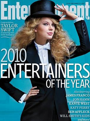 Taylor Swift po męsku na okładce Entertainment Weekly