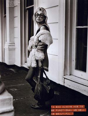 Sesja Kate Moss w i-D Magazine