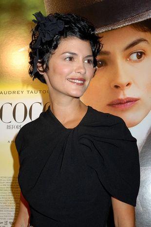 Audrey Tautou w sukience Lanvin