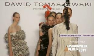 Kolekcja Dawida Tomaszewskiego zachwyciła w Berlinie
