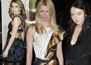 Kreacje gwiazd na British Fashion Awards 2010 (FOTO)