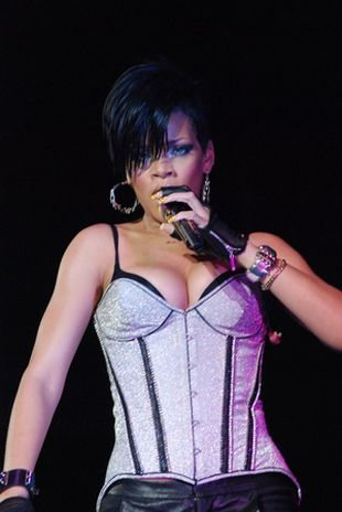 Rihanna w zeberce