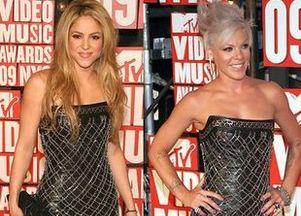 Shakira i Pink...