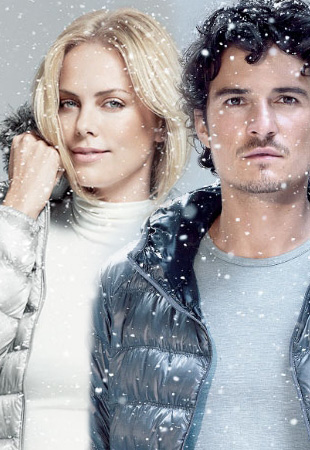Charlize Theron i Orlando Bloom dla Uniqlo