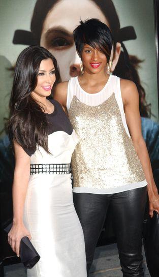 Ciara, Kim Kardashian i różowa szminka