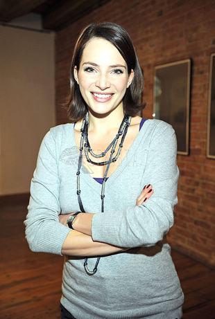 Anna Dereszowska też lubi być szara