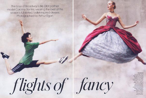 Suknie inspirowane baletem