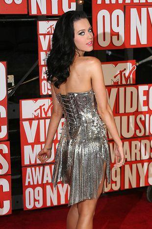 Srebrzysta Katy Perry