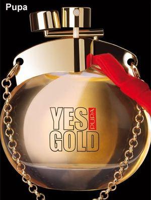 Yes Gold - nowa woda toaletowa