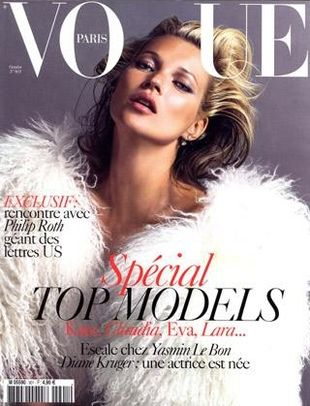 Kate Moss zgarnia okładki