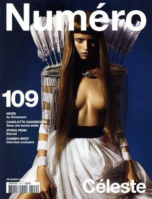 Abbey Lee Kershaw na okłade Numero Magazine
