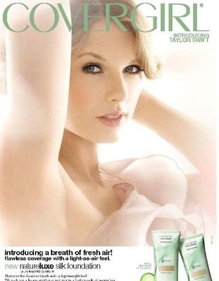 Taylor Swift została twarzą CoverGirl (FOTO)