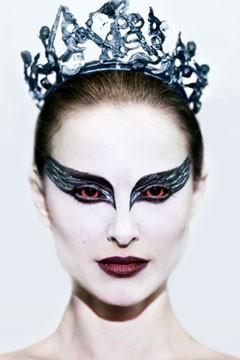 Niesamowity makijaż z filmu Black Swan