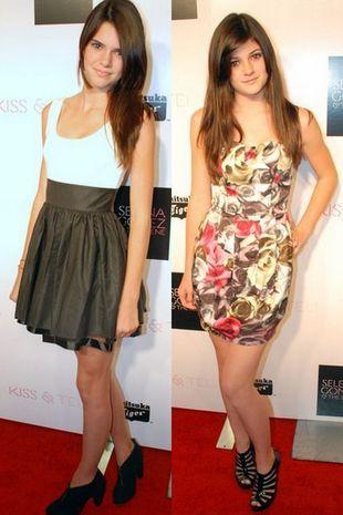 Kendall i Kylie Jenner wśród nastoletnich gwiazdeczek
