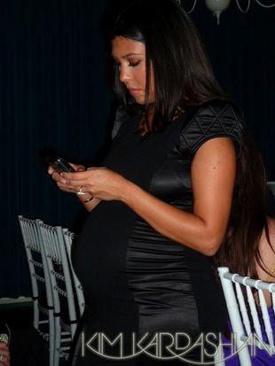 Ciężarna Kourtney Kardashian
