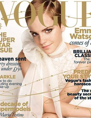 Emma Watson na okładce Vogue'a UK