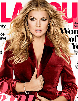 Fergie na nowej okładce Glamour