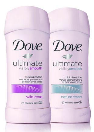 Nowy dezodorant Dove - rzadsza depilacja?