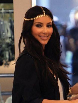 Kim Kardashian w stylu hippie
