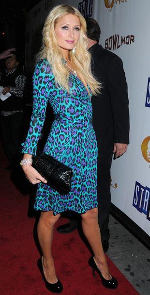 Nietypowa panterka Paris Hilton