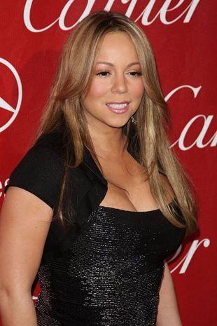 Mariah Carey na czerwonym dywanie