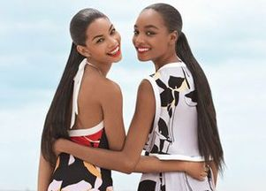 Jourdan Dunn i Chanel Iman dla Teen Vogue'a