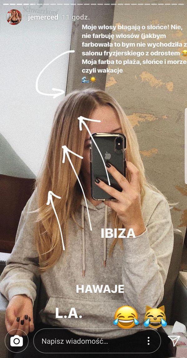 Jessics Mercedes opowiada o swoim kolorze włosów: Moja farba to... (FOTO)