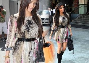 Kim Kardashian szaleje na zakupach