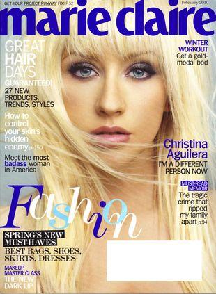 Christina Aguilera w Marie Claire