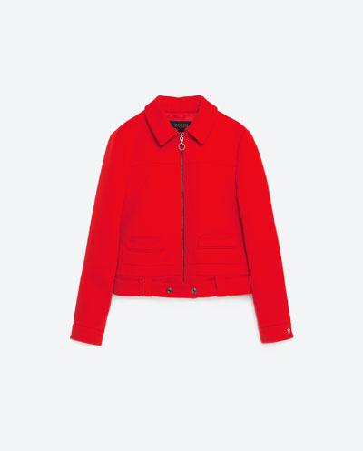 Zara Red Cartoon - Czerwień i młodzieżowe akcenty na wiosnę