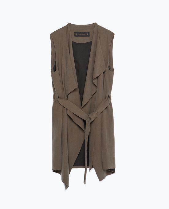 Zara Green Paisley - Nowa modna minikolekcja na jesień