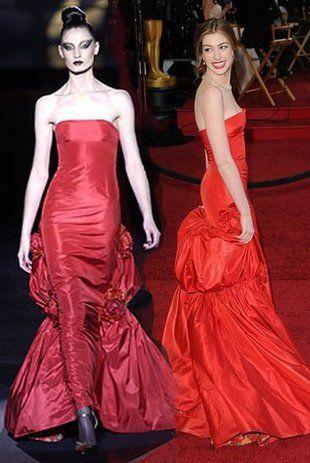 Anne Hathaway w Valentino (FOTO)