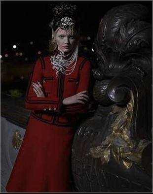 Sasha Pivovarova nową muzą Lagerfelda