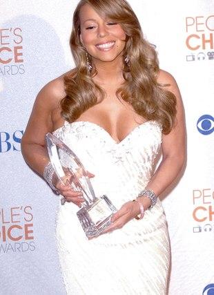 Mariah Carey błyszczy